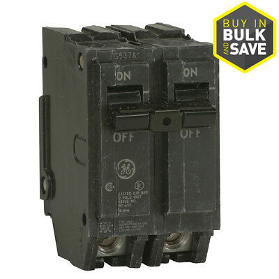 GE Q-Line THQp THQL -Amp Single Double Pole Circuit Breaker Electrical Breakers