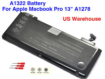 """Genuine OEM A1322 Battery For  Macbook Pro 13"""" A1278 Mid 2009/2010/2011/2012"""