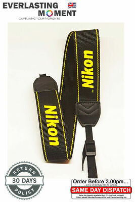 Shoulder Neck Sling Strap Belt for Nikon SLR/DSLR Camera D7100 D70s D90 D3100