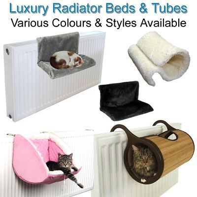 Cat Radiator Bed Tube Kitten Basket Kitty Cradle Hammock Tunnel Home House Pet