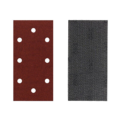 Sandpaper or Mesh Sanding Sheets for Black + Decker 1/3 Third Sander Hook & Loop