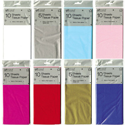 Tissue Wrapping Paper High Quality Coloured Perfect for Crafts 50cm x 70cm