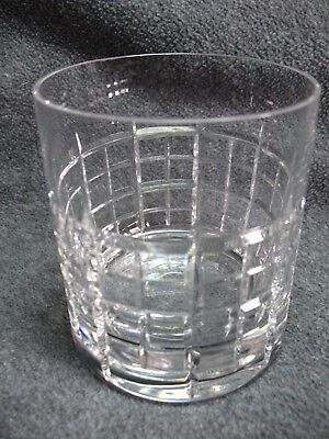Marquis By Waterford Crystal Glass Grid Double Old Fashioned
