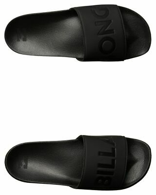 New Billabong Men's Poolslide Slide Rubber Soft Black