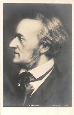 Postcard    Music   Composers        Wagner
