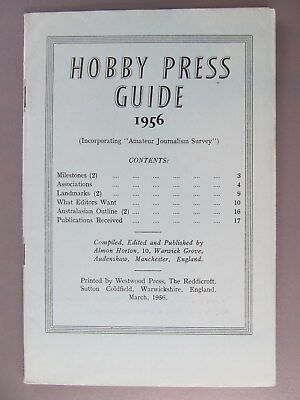 Hobby Press Guide 1956, Westwood Press, England