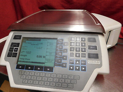 FULLY CLEANED! Hobart Quantum Scale & Printer, All Functions Tested READY TO USE