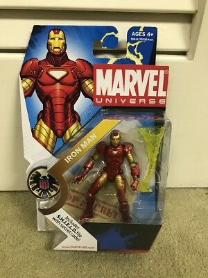 Hasbro Marvel Universe 3 3/4 Inch Iron Man- Cool Looking!