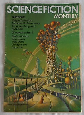 SCIENCE FICTION MONTHLY 1974 VOL 1 No 4 BOB SHAW GRAHAM LEHMAN