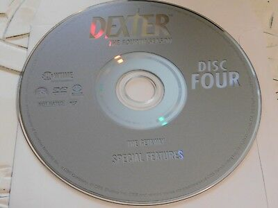 Dexter Fourth Season 4 Disc 4 DVD Disc Only 43-5