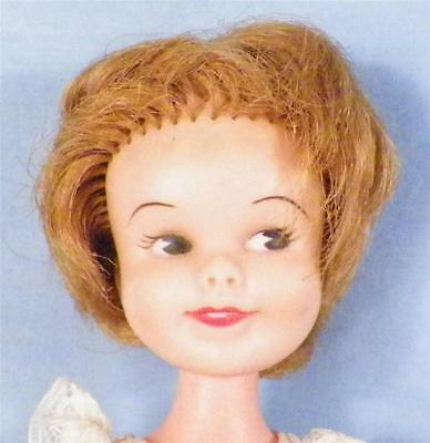 Penny Brite Doll Deluxe Reading Vinyl in Party Dress Vintage