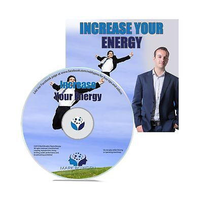 Increase Your Energy Self Hypnosis CD - Hypnotherapy CD to Fight Fatigue and ...