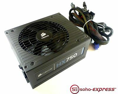 Corsair Hx750 750W Modular Desktop Psu Power Supply 75-001218