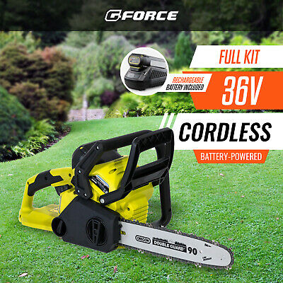 [NEW] GForce 36V Chainsaw (Kit) | Battery Powered Cordless Chainsaw