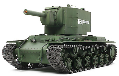 Tamiya 1/16 RC RUSSIAN HEAVY TANK KV - 2 GIGANT FULL - OPTION COMPLETE KIT 56029