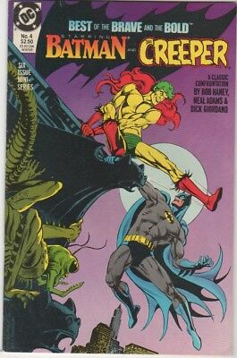 DC Comics Best of The Brave and The Bold BATMAN THE CREEPER #4 Neal Adams