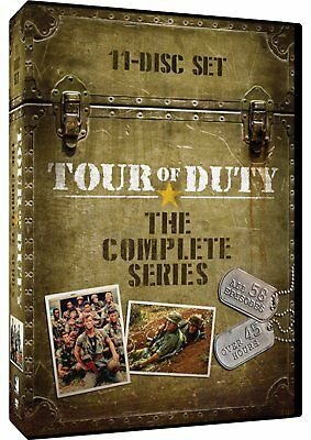 Tour of Duty The Complete Series Season 1 2 3 Region 1 New DVD