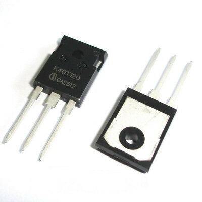 5 Pcs IKW40T120 TO-247 K40T120 IGBT IN Trench And Fieldstop Technology