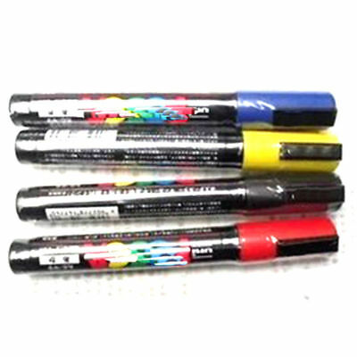 5x Queen Bee Marking Marker Pen Set White Yellow Red Green Blue BeeKeeping s1