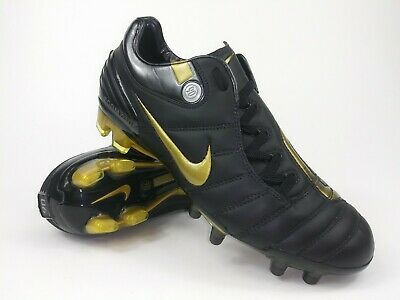 quality design a8600 1dd41 NIKE MENS RARE Air Zoom Total 90 Supremacy FG 313969-071 Gold Cleats Size 6