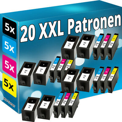 20x TINTE PATRONEN für HP 934XL+935XL OFFICEJET PRO 6230 6820 6830C All-in-One