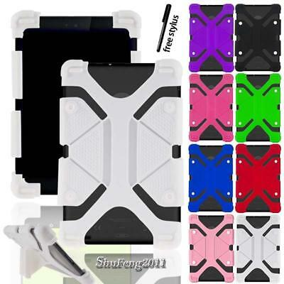 """Soft Silicone Shockproof Stand Cover Case For 7"""" 8"""" Amazon Kindle Fire Tablet"""