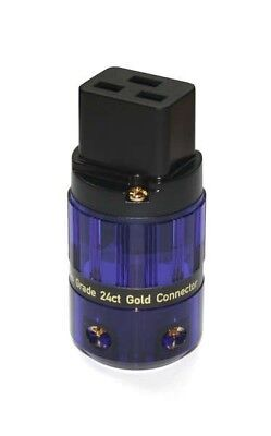 IsoTek Evo3 Gold Plated Mains Connector (IEC 19 - High Current)