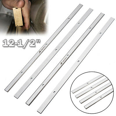 4 Pcs 12-1/2'' Planer Replacement Blades Knives For Porter Cable PC305TP Planer