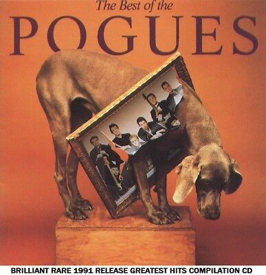 The Pogues Very Best Greatest Hits Collection RARE CD 80's Irish Folk Rock Punk