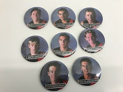AFL Essendon 90s Player Badges