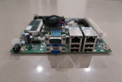 Advantech AIMB-212 (Intel Atom D510 + 2GB RAM + dual LAN + 12V PSU), great cond!