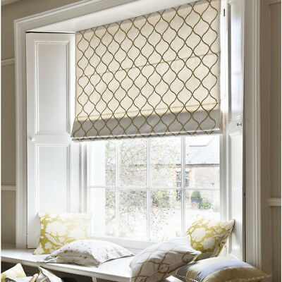 Designer Fabric Roman Blind /Roman Shade, Made to Order,Easy to install