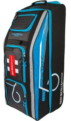 Blue Silver New Ex Display Gray Nicolls Powerbow6 1000 Bag Holdall Black