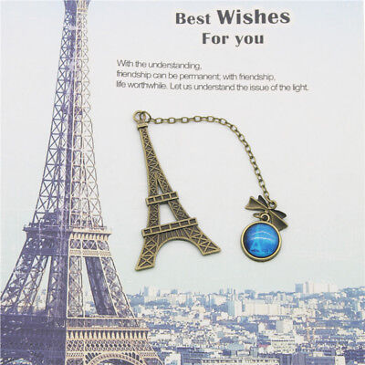 Hot Eiffel Tower Metal Bookmarks For Book Creative Item Kids Gift Stationery