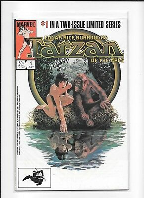 Tarzan Of The Apes Complete #1-2 (Vf/nm) Marvel