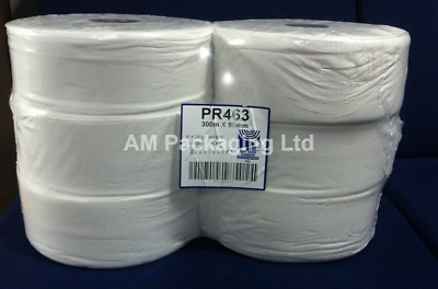 * Jumbo Industrial 2-Ply Toilet Rolls 95mm x 300m + FREE DELIVERY (PP1149)