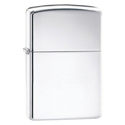 Zippo 250 - High Polish Chrome Lighter