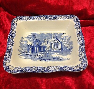 Vintage George Jones & Sons 'Abbey' Shredded Wheat Dish