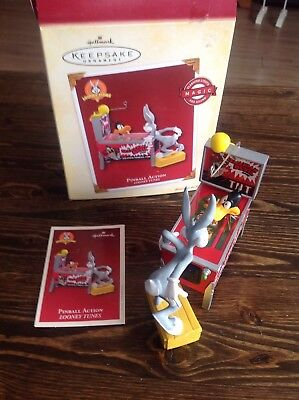 Hallmark Keepsake Ornament Pinball Action Looney Tunes