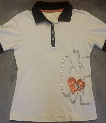 girls golf trendy Damenpoloshirt Gr. M