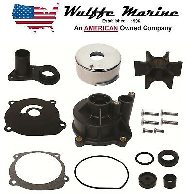 Water Pump Kit for Johnson Evinrude 85 115 140 150 175 200 235 Hp 18-3393 395073