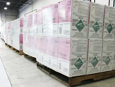 FULL PALLET (40)- R410A  25 lb.new factory sealed 100% Virgin MADE IN USA