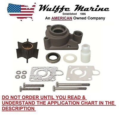 Water Pump Impeller Kit for Chrysler Force 115 125 140 hp Outboard FK1069
