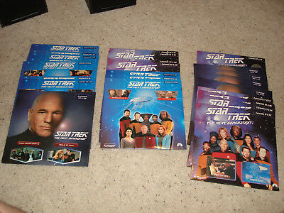 Lot 25 Sealed New Stng Star Trek Next Generation Laserdisc Collection