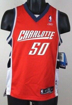 c19925b45c9 ... switzerland charlotte bobcats orange 50 emeka okafor youth size reebok  basketball jersey b93b5 dde95