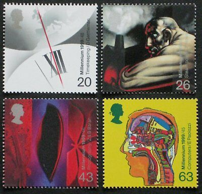 1999 Great Britain MNH ** Scott 1839-1842; SG 2069-2072; The Inventor's Tale
