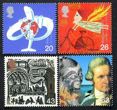 1999 Great Britain MNH ** Scott 1843-1846; SG 2073-2076; The Traveller's Tale