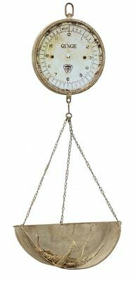 "16-1/2""L x 42""H Decorative Metal Vintage Reproduction of Hanging Produce Scale"