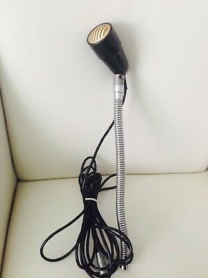 VINTAGE 60's PHILIPS GOOSENECK MICROPHONE with CABLE