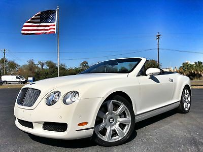 2007 Bentley Continental GT GTC CLEAN 2 OWNER GTC*CONTINETAL*2 OWNER*CARFAX CERT*BOOKS/RECS*552HP*AWD*V12*WE FINANCE*FLA
